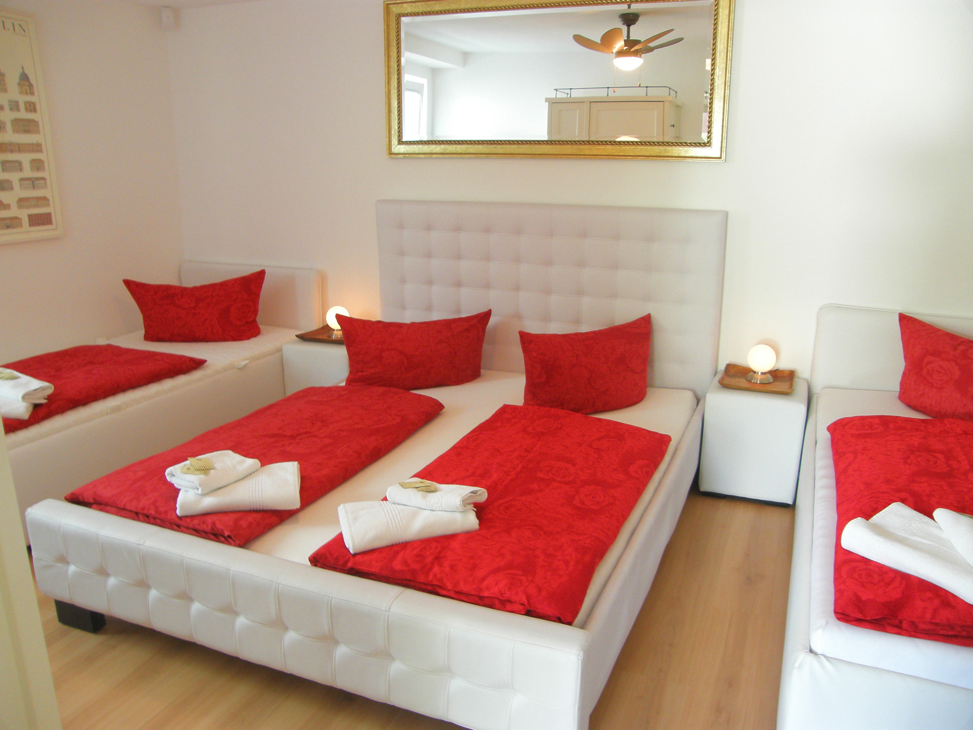 Apartment bis 6 Personen – City Holiday Apartments Berlin